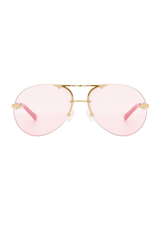 Karen Walker Love Hangover in Pink & Gold