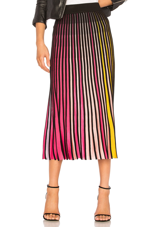 Kenzo Midi Flare Skirt in Multicolor
