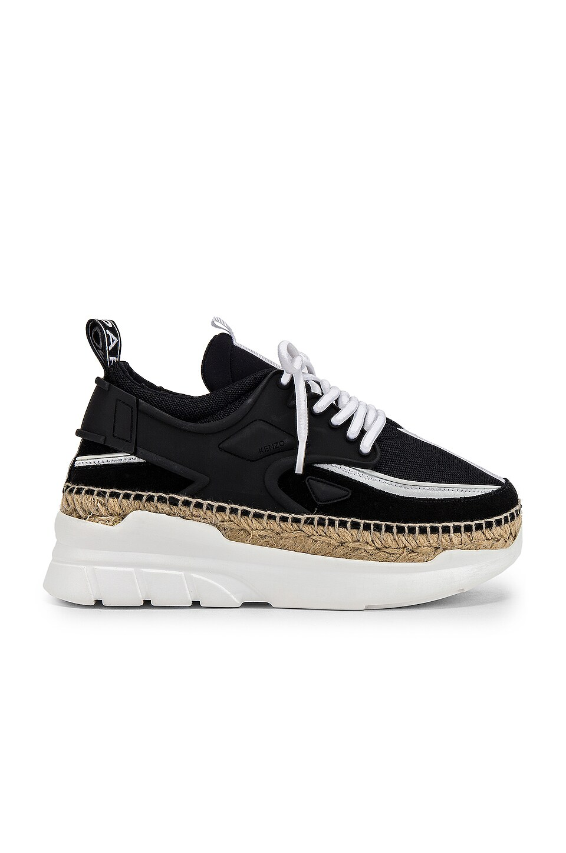 Kenzo K Lastic Low Top Sneaker in Black