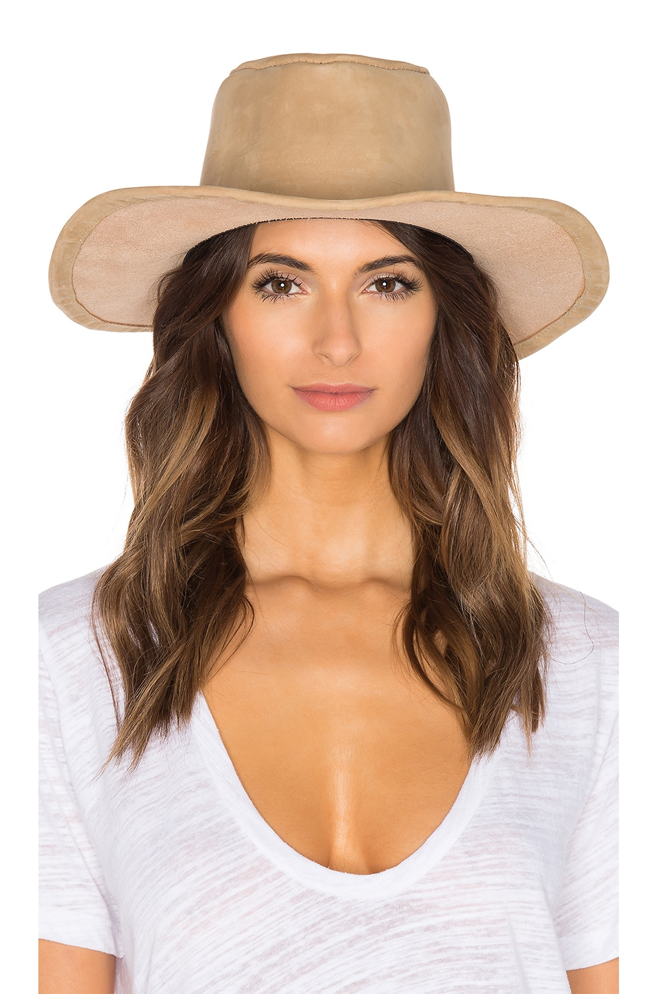 The Vista Luxe Hat at REVOLVE