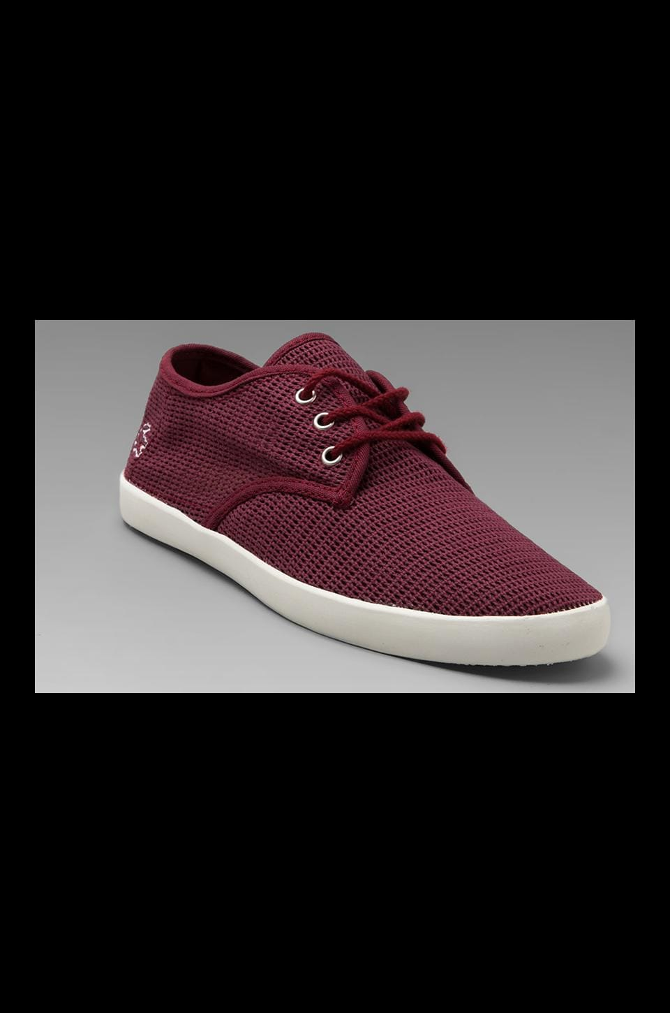Lacoste Aristide 10 in Dark Red
