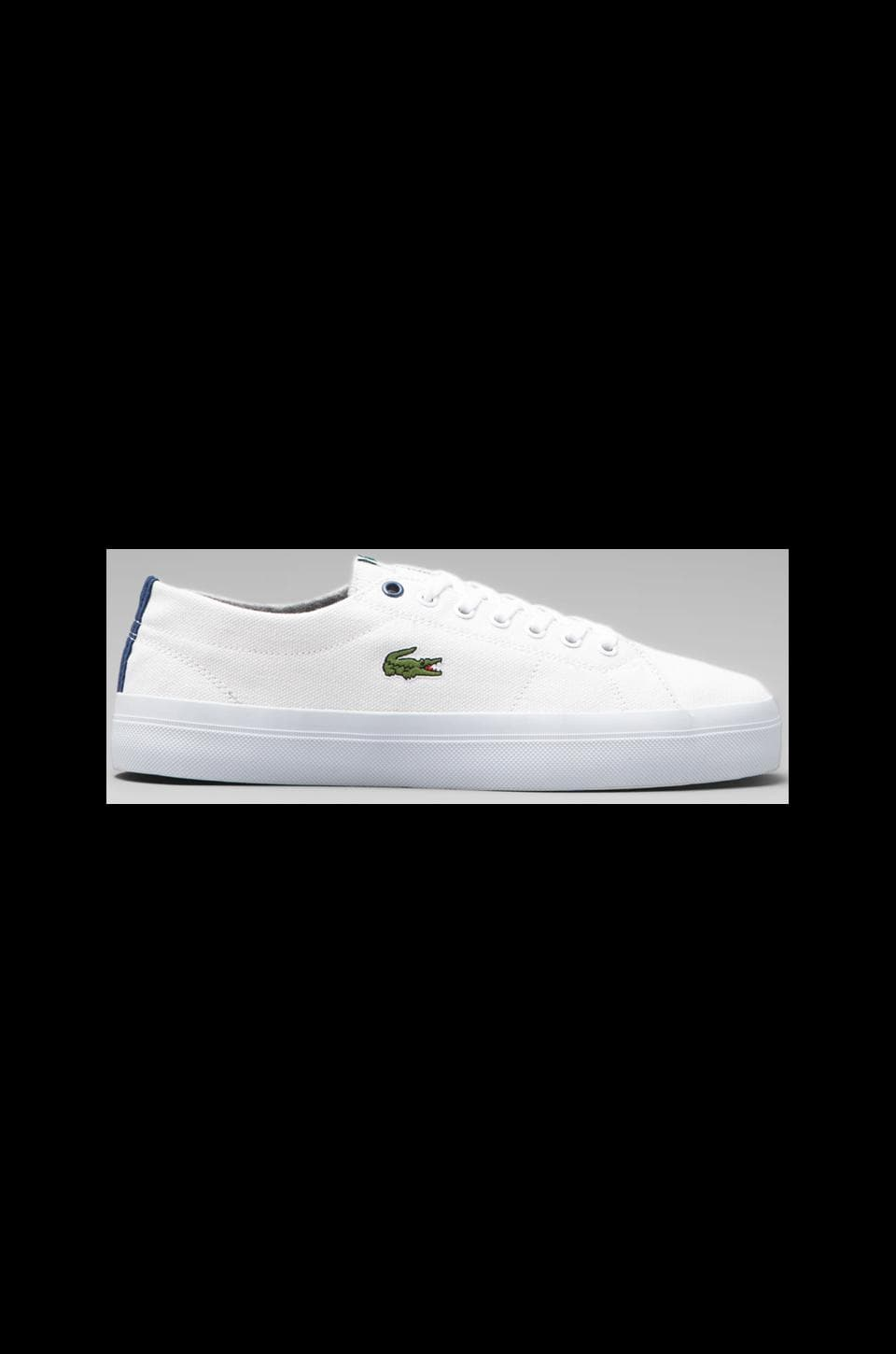 Lacoste Marcel Chunky COL in White/Blue