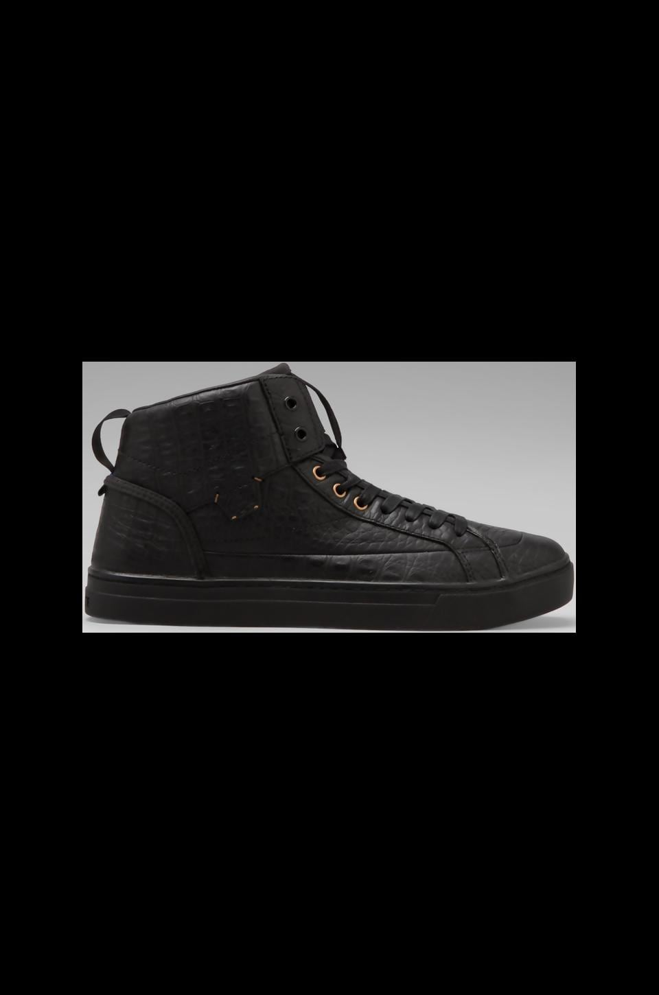 Lacoste Live Berrick Mid AT in Black/Black