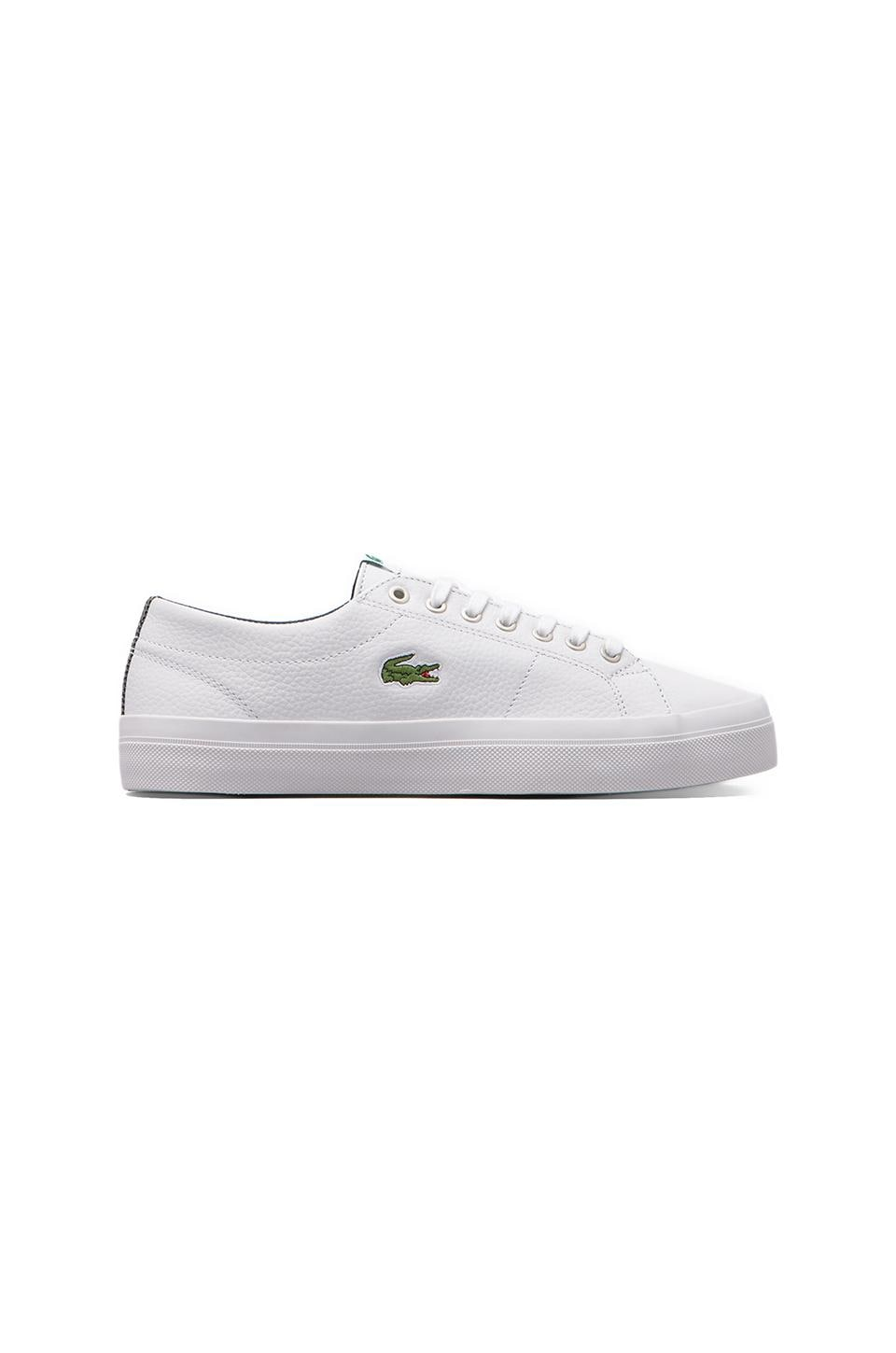 Lacoste Marcel Chunky MTS in White/Dark Blue