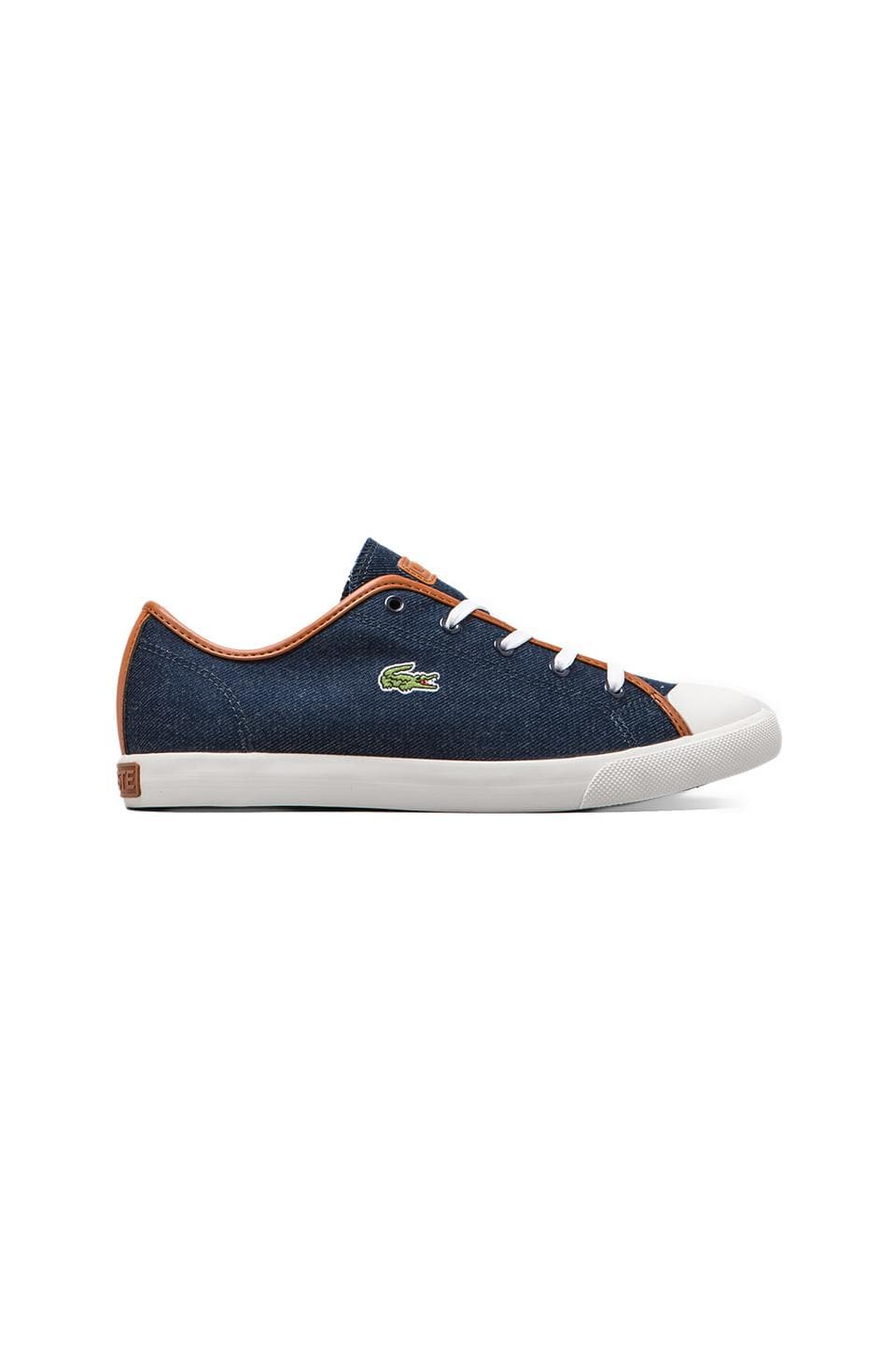 Lacoste L27 Denim in Blue/Blue
