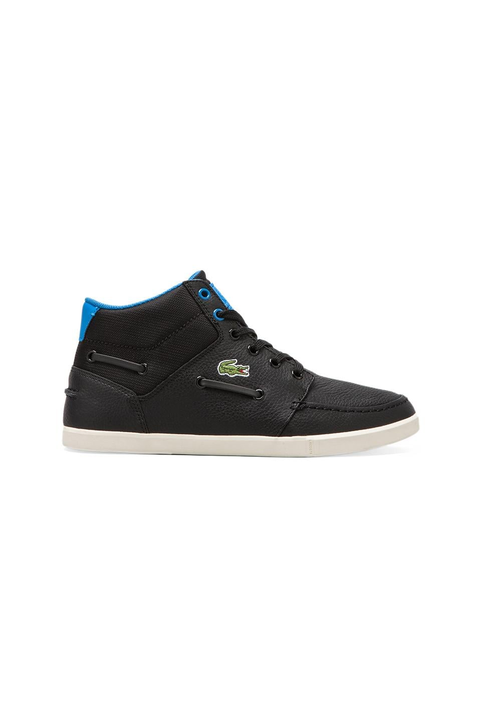 Lacoste LIVE Crosier Sail Mid in Black/Blue