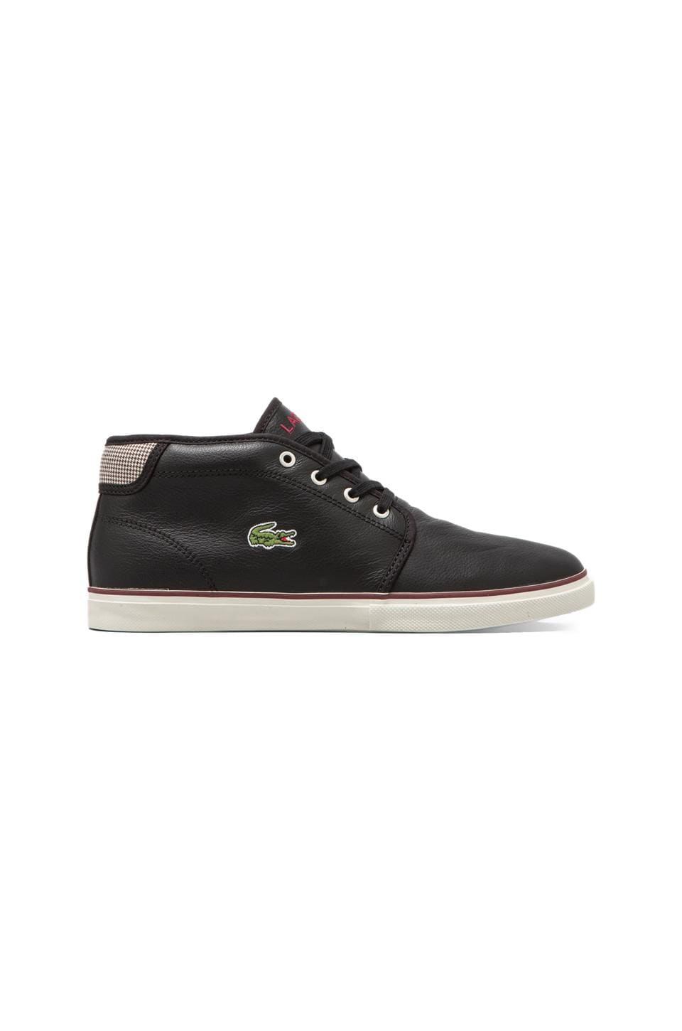 Lacoste Ampthill MTS in Black/Dark Red