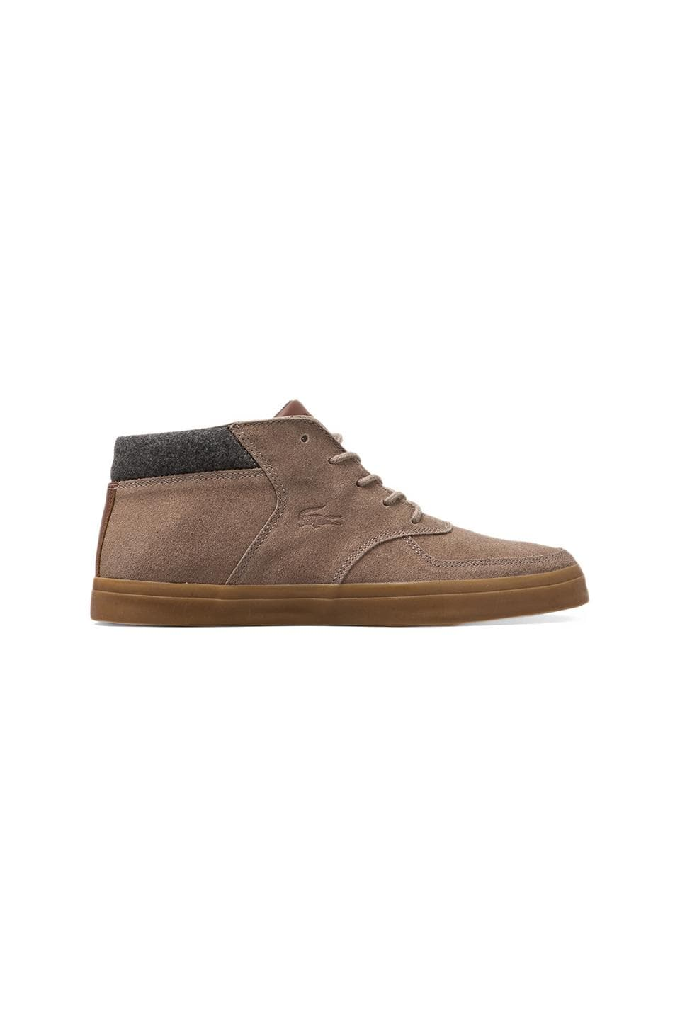 Lacoste Glendon-Mid 2 in Light Brown