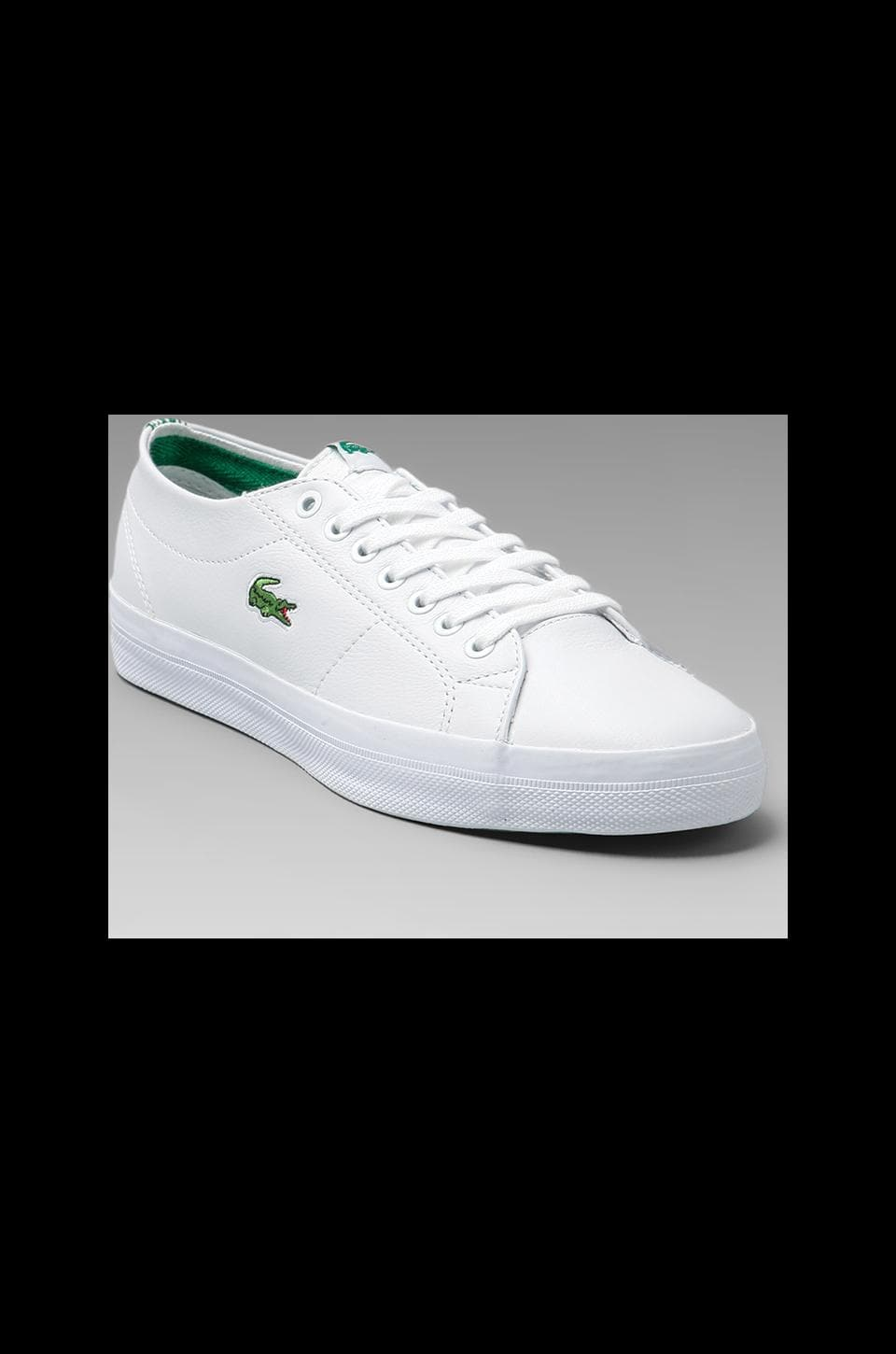 Lacoste Marcel Chunky CRE in White/Green