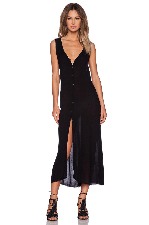 LACAUSA Rey Dress in Black