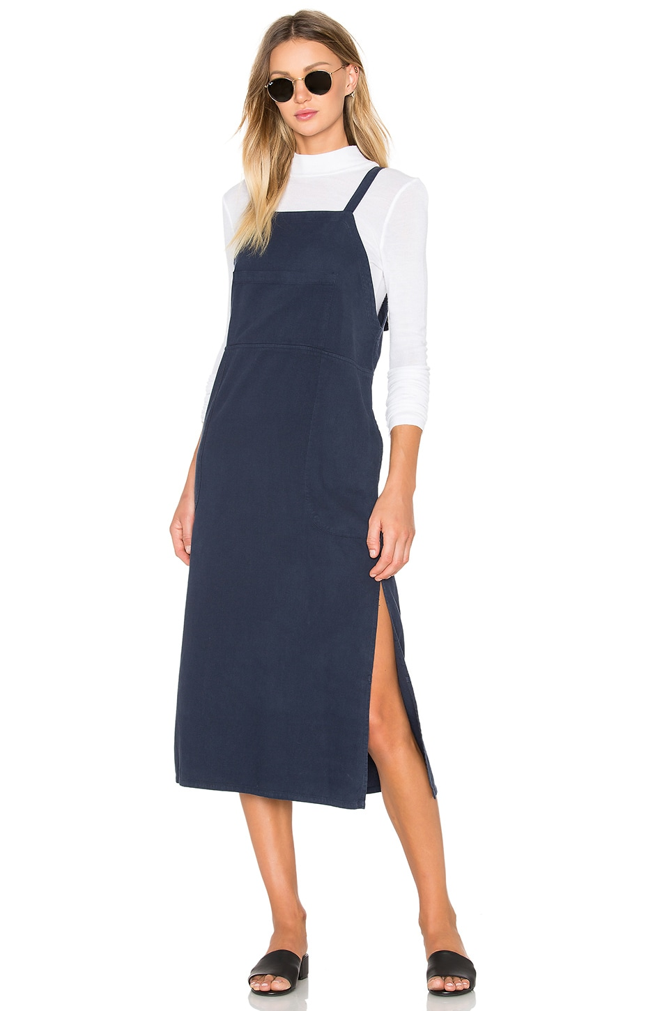 Overall Dress by LACAUSA