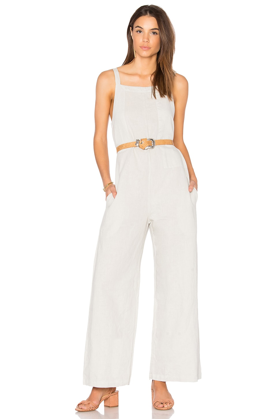 Patch Jumpsuit by LACAUSA