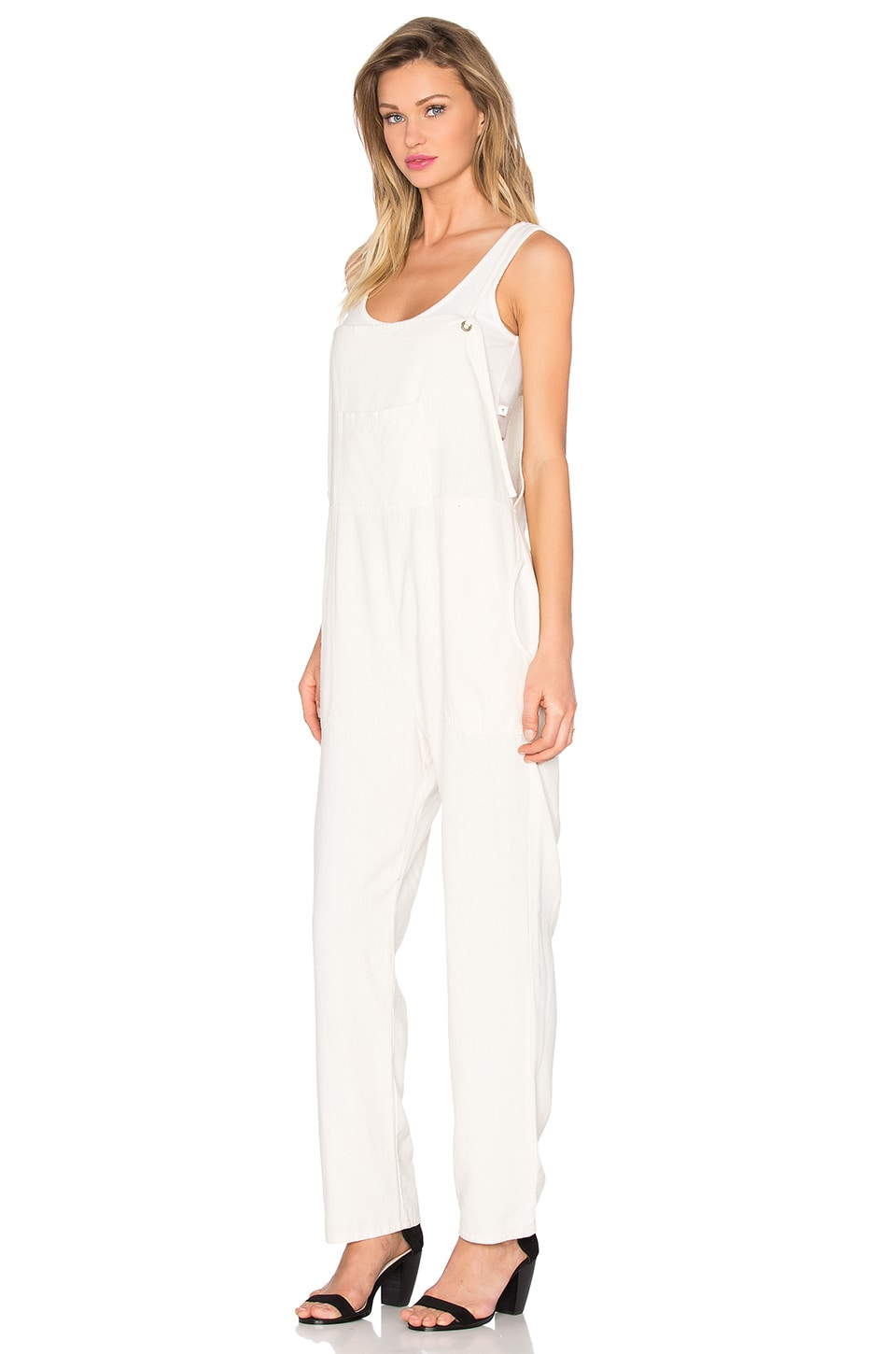 Silk Overalls by LACAUSA