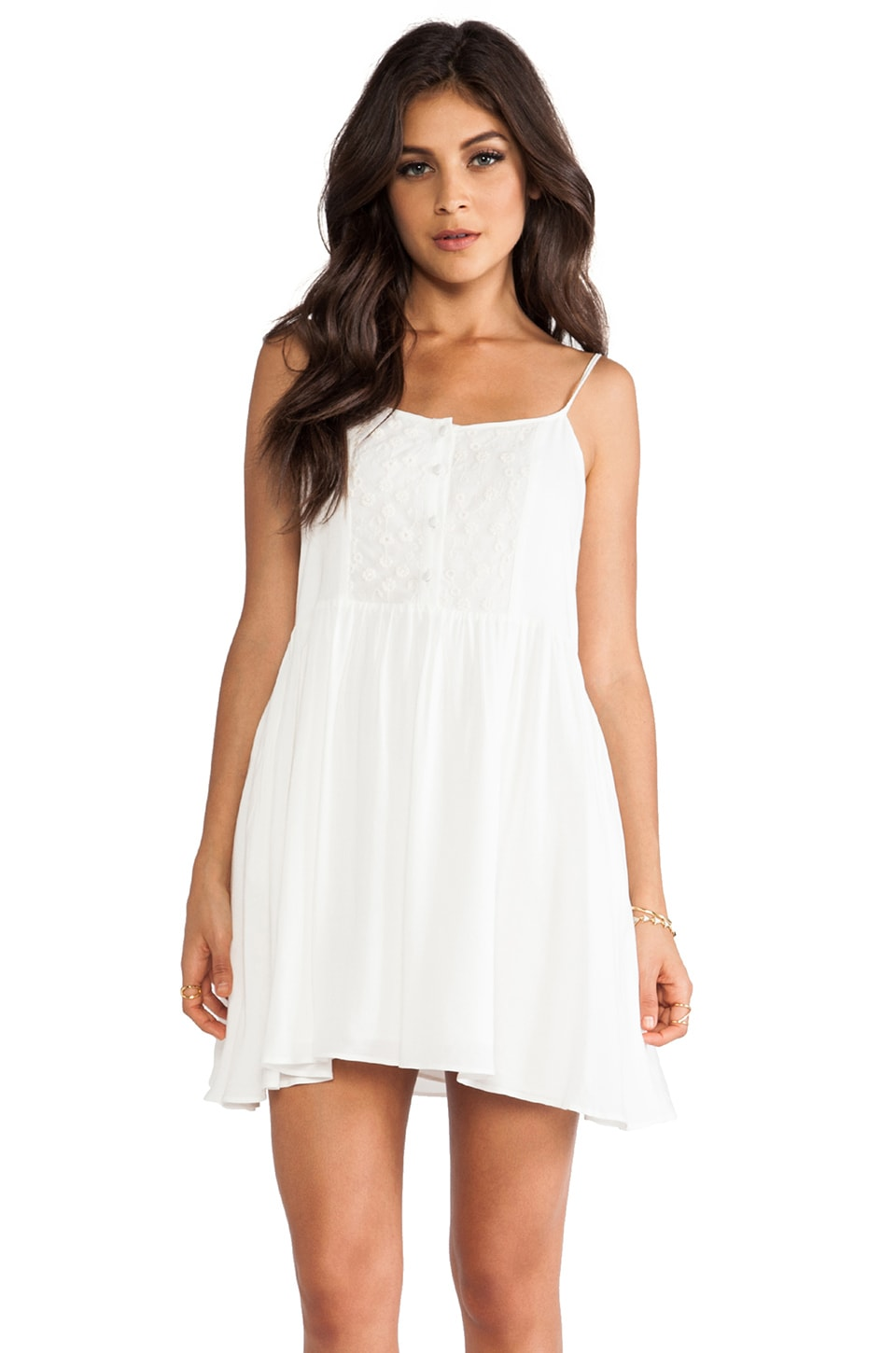 Ladakh Miss Mary Dress in White