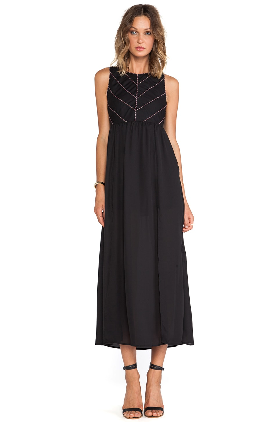 Ladakh Emblaze Maxi in Black