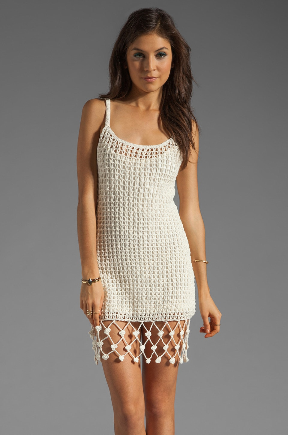 Ladakh Breathe Easy Dress in Cream