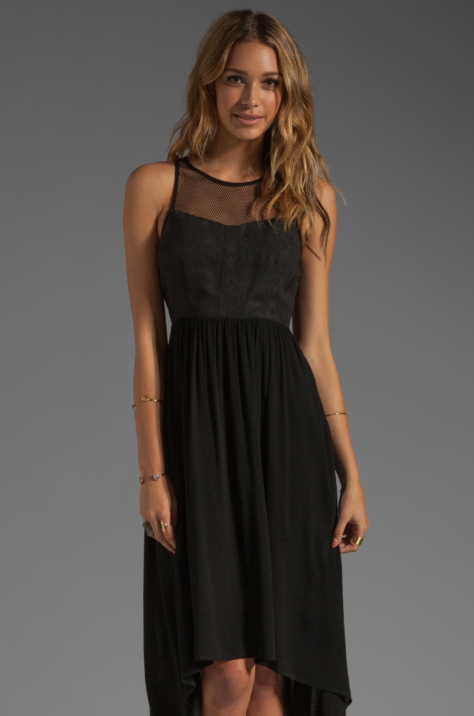 Ladakh Upstate Dress in Black