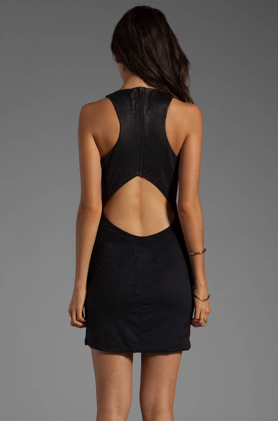 Ladakh Bulletproof Dress in Black