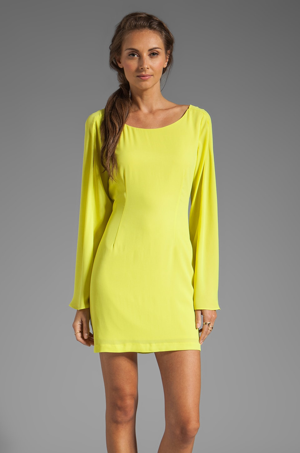 Ladakh The Go Getter Dress in Citrus