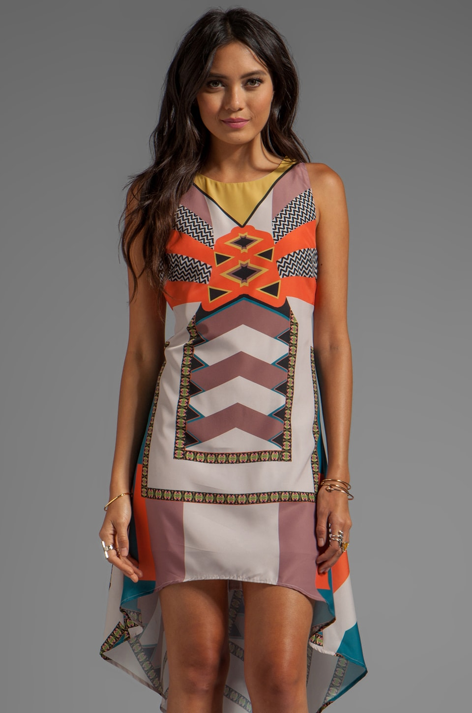 Ladakh El Salvador Dress in Multi