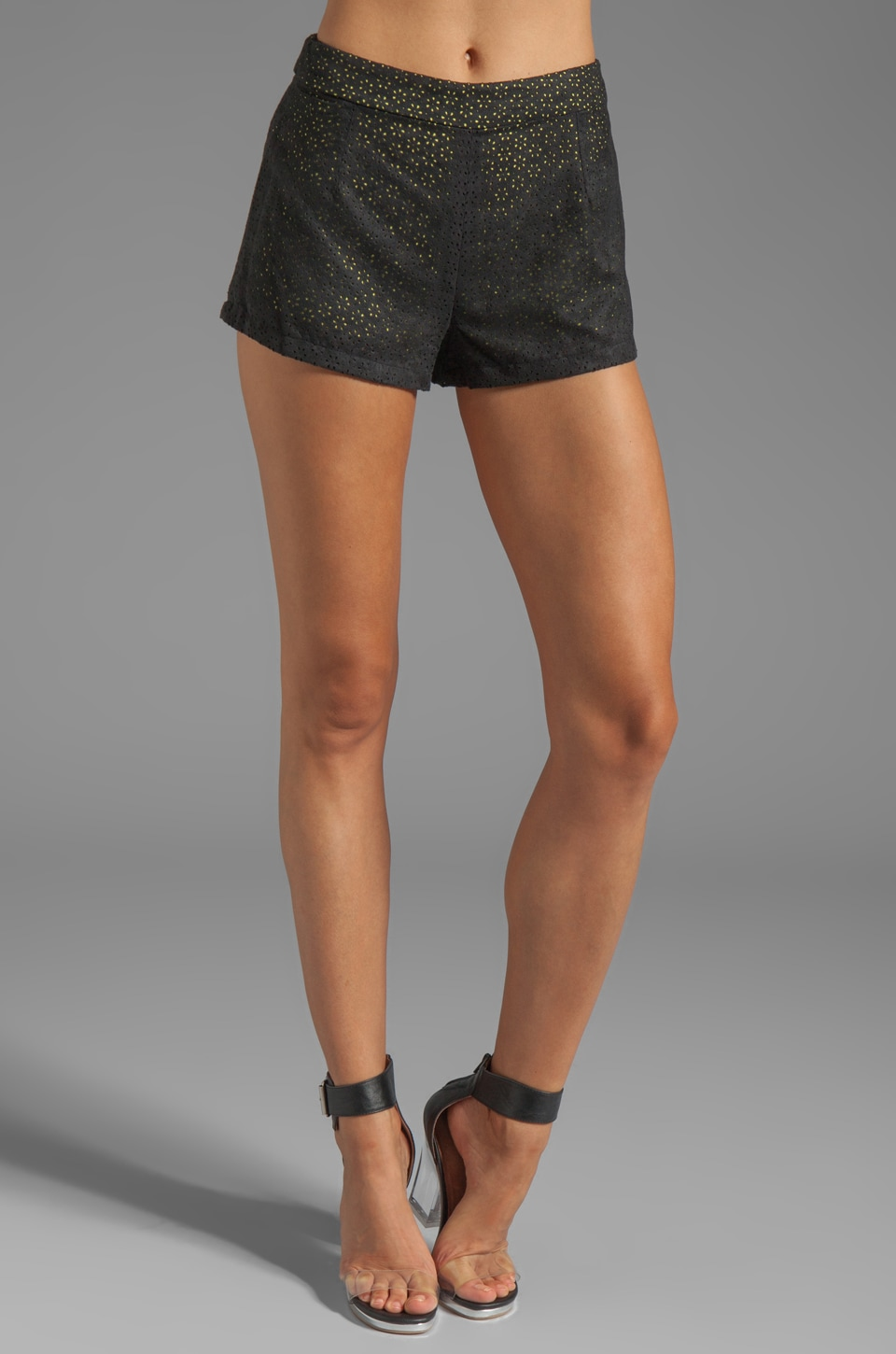 Ladakh Cut It Out Shorts in Black