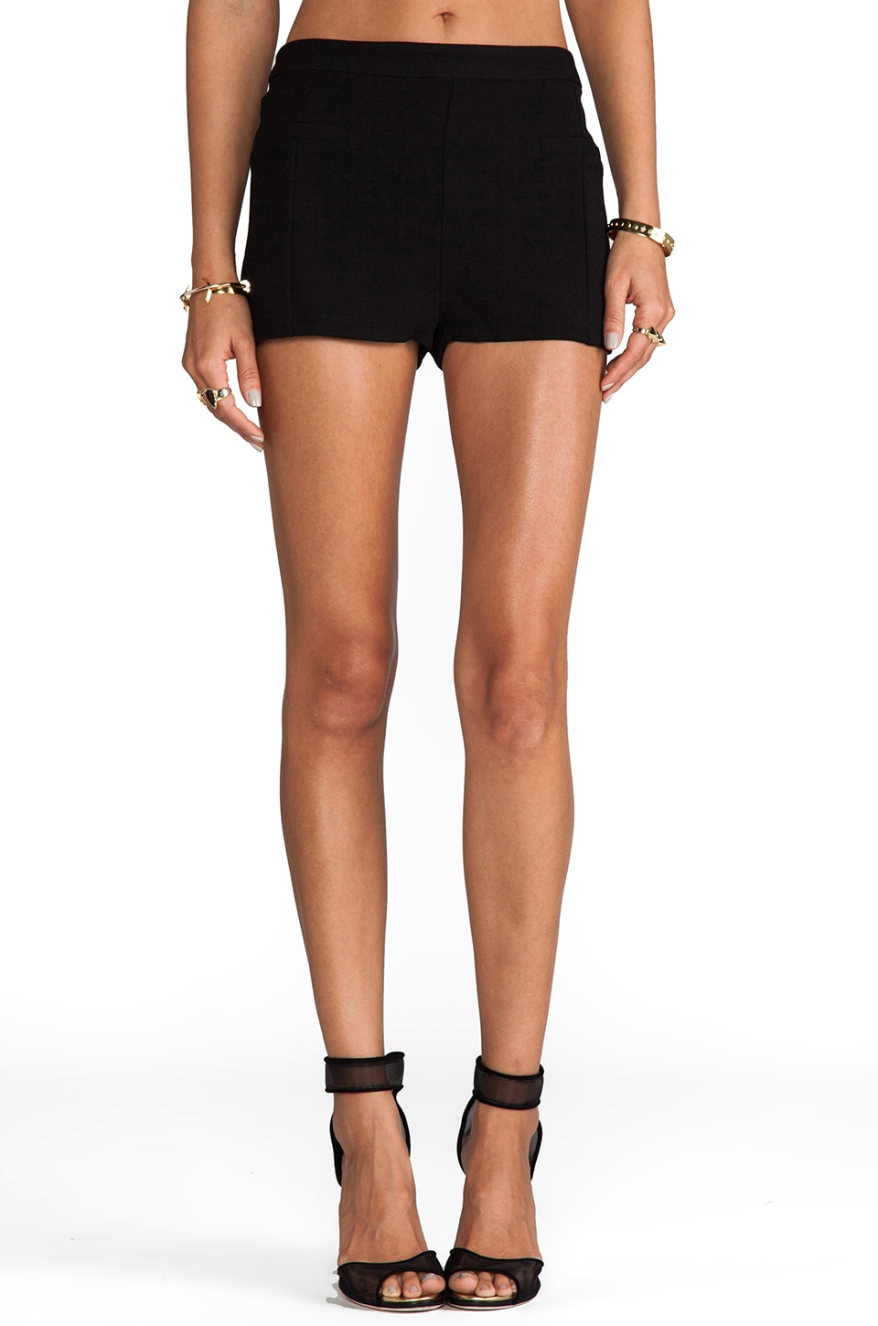 Ladakh Close To Me Shorts in Black