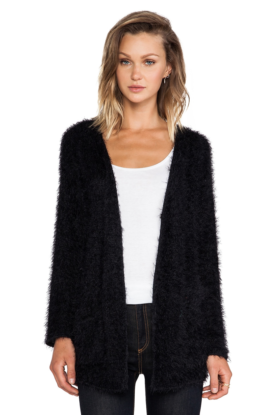 Ladakh Bamboozle Cardigan in Black