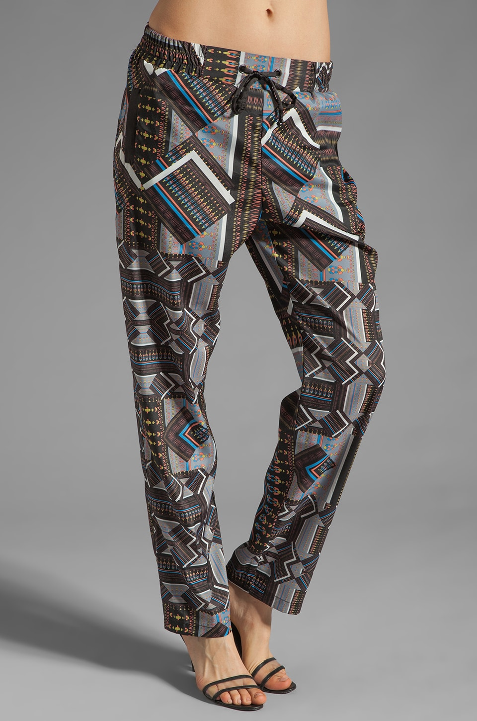 Ladakh Tribal Jigsaw Pants in Multi