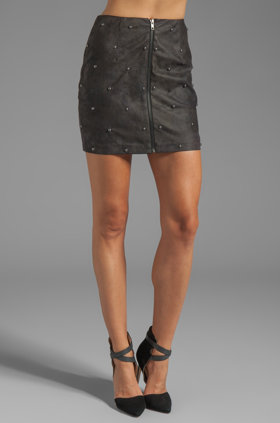 Ladakh Rita Stud Skirt in Black