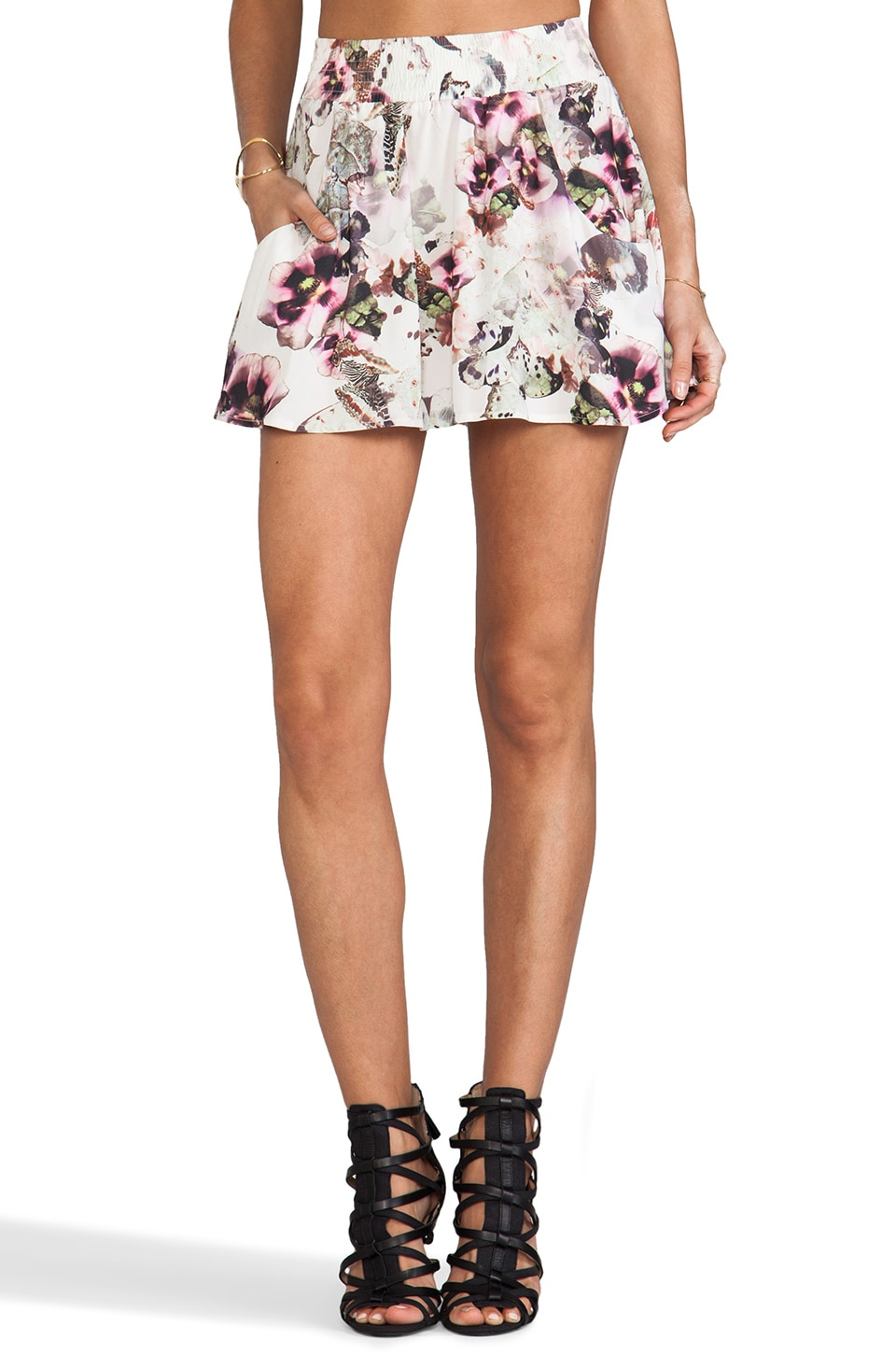 Ladakh Flutter By Skirt in Floral