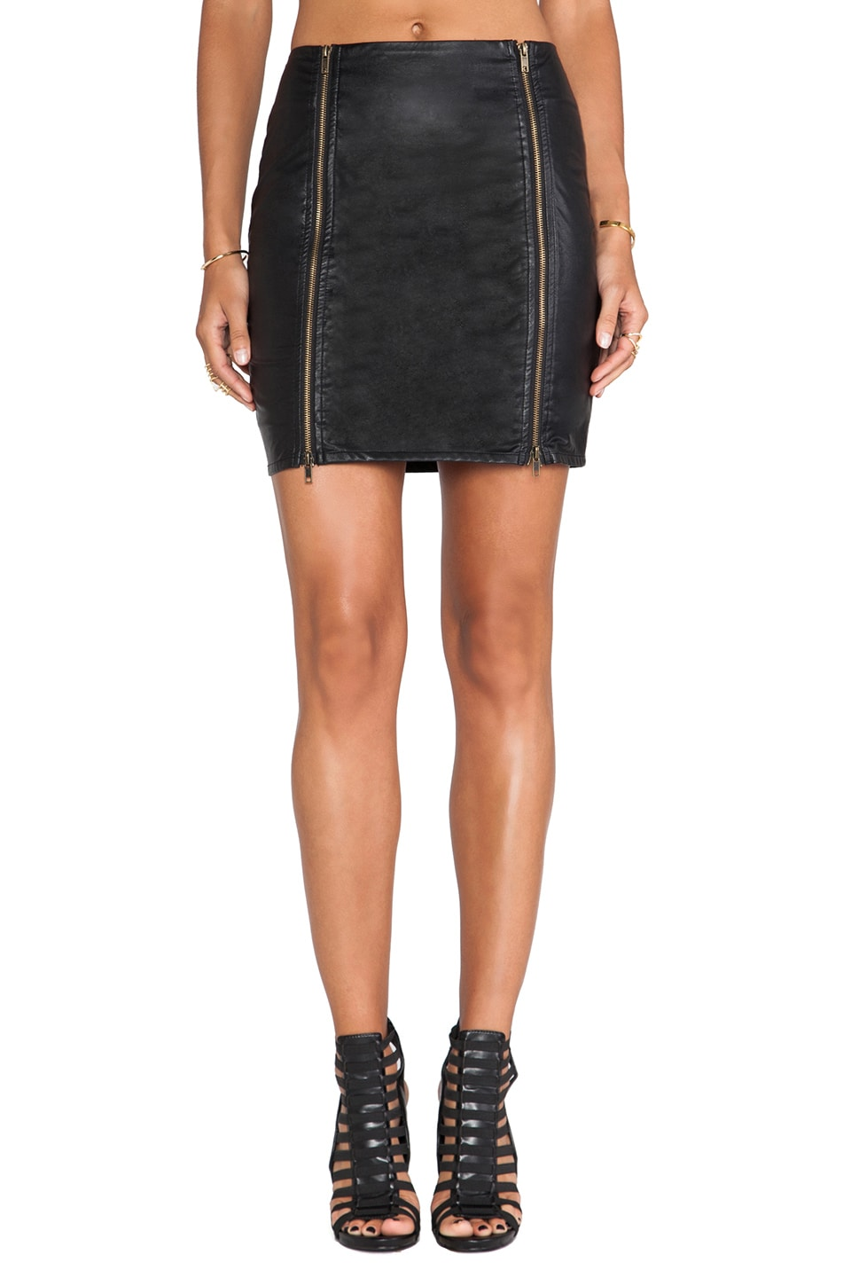 Ladakh Fly Girl Skirt in Black
