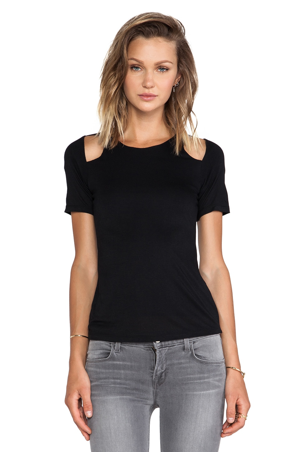Ladakh Chill Out Top in Black