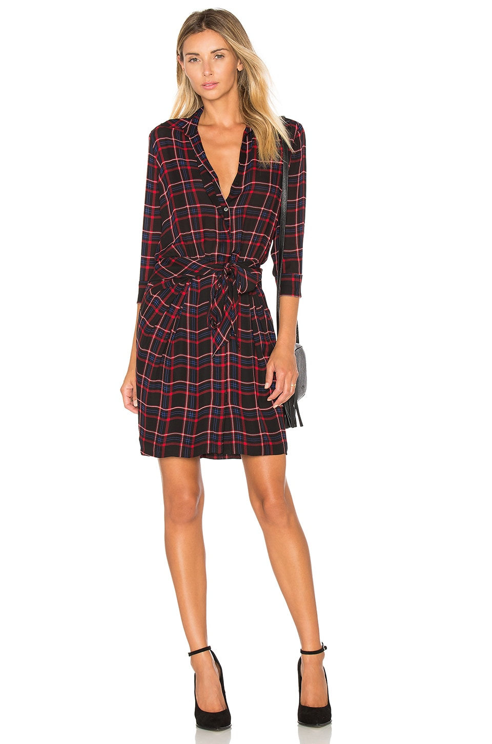Kendall Shirt Dress by L'AGENCE