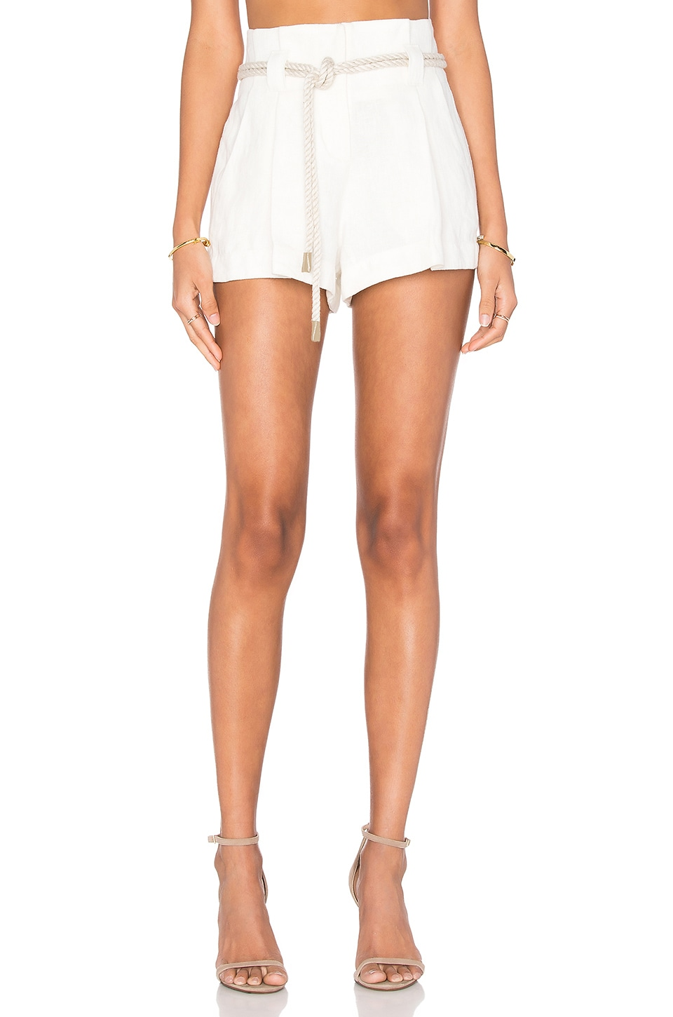 L'AGENCE Edie Short in Ivory
