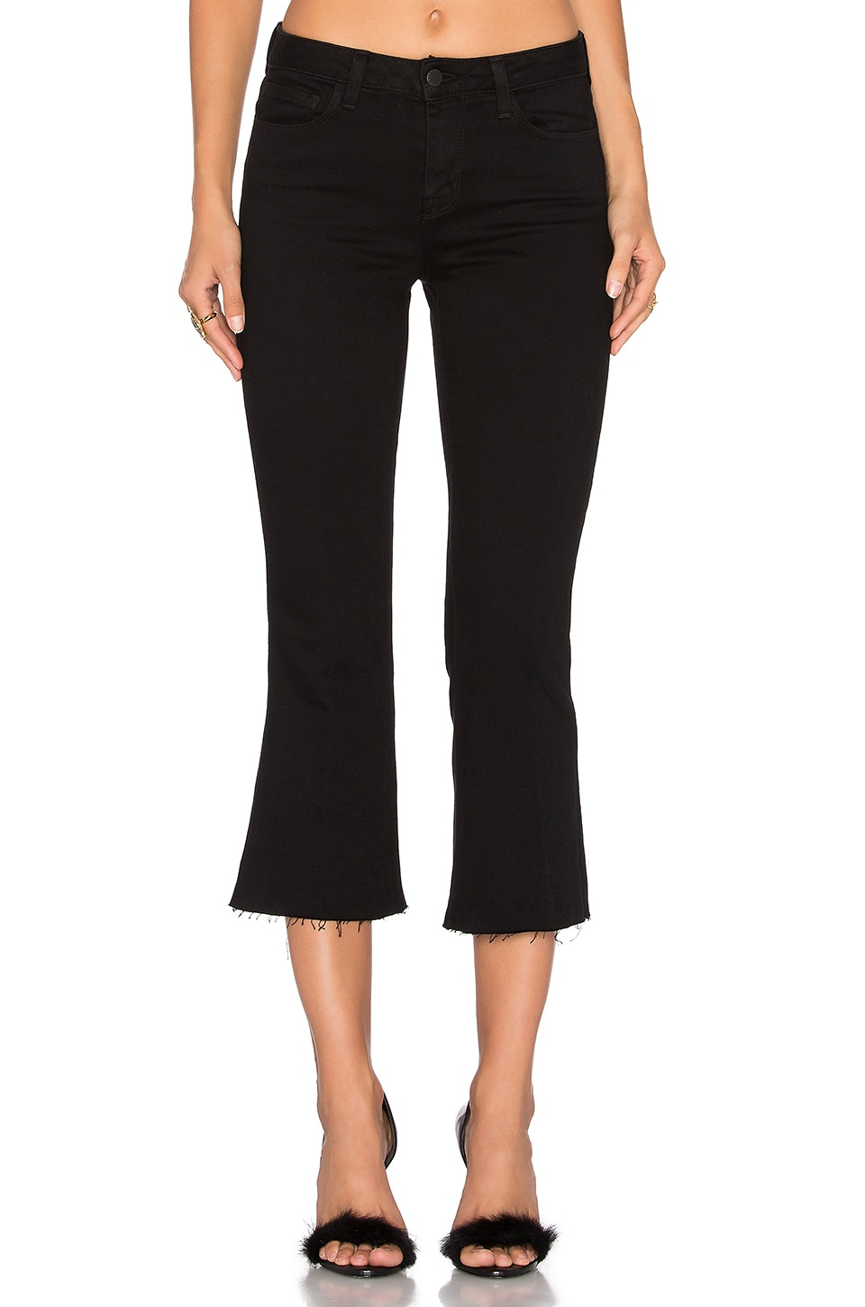 Sophia Cropped Flare by L'AGENCE