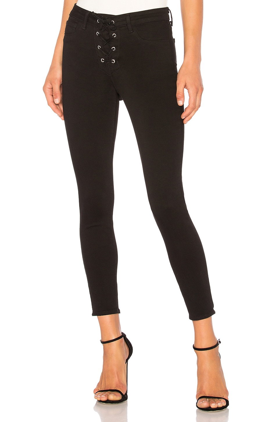 The Cherie Lace-up Skinny