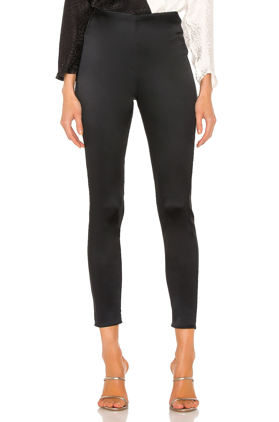 L'AGENCE Arrow Pant in Black