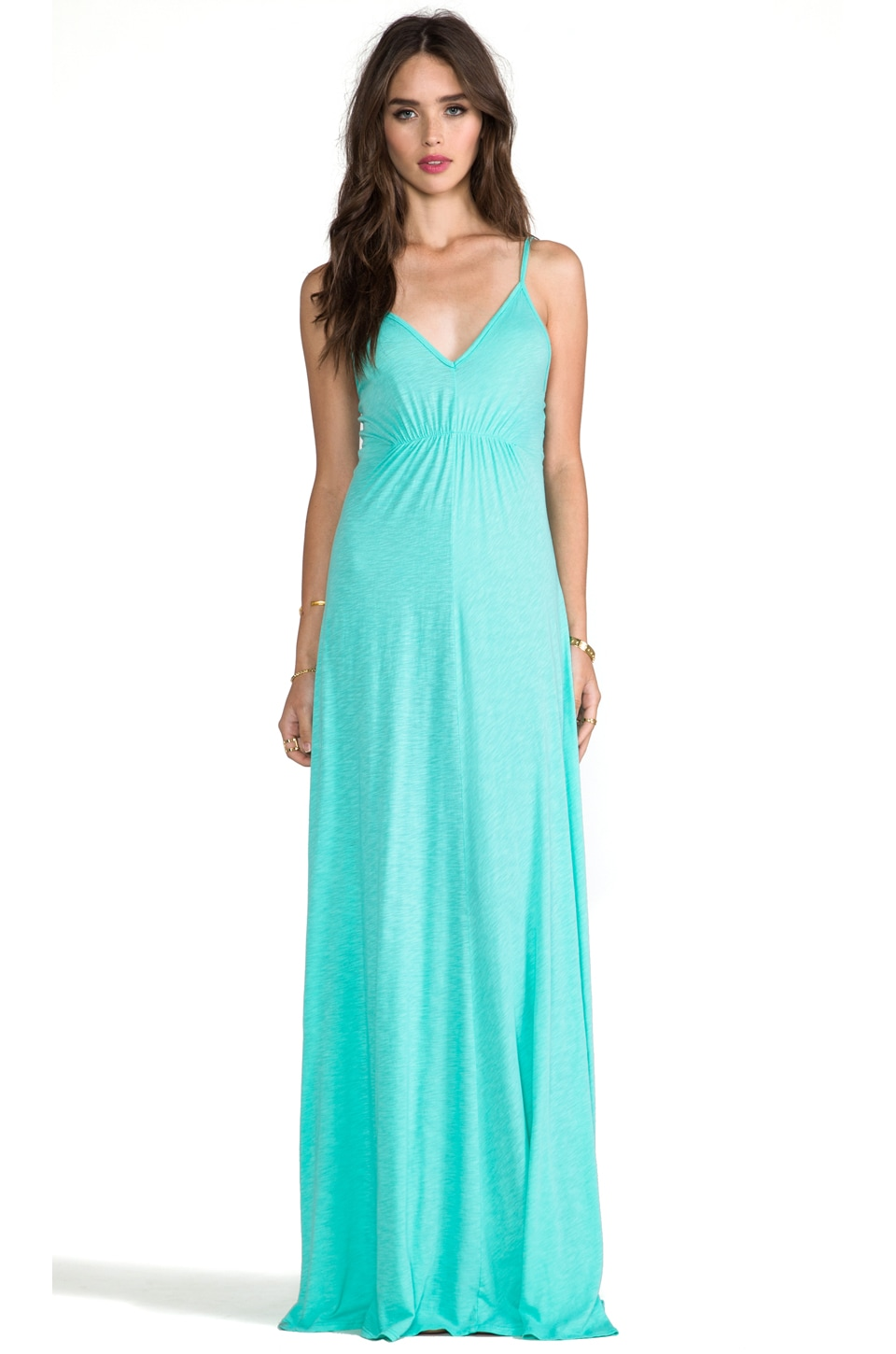 LA Made Cami Maxi Dress in Mantis
