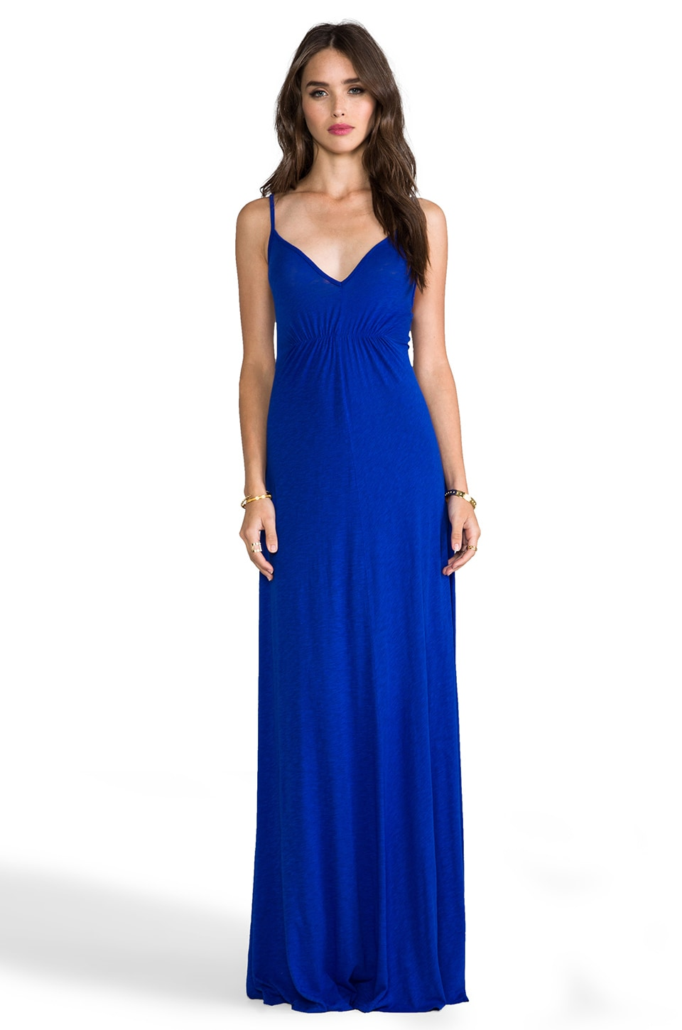 LA Made Cami Maxi Dress in Midnight Glow