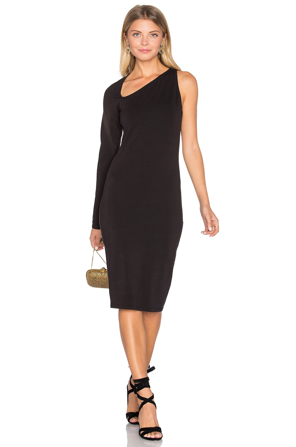 LA Made Roxie Dress in Black