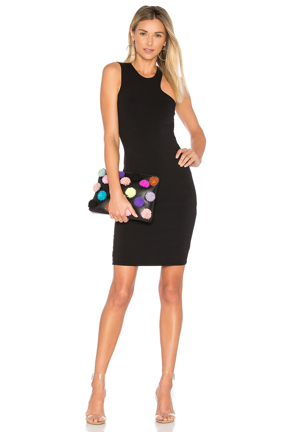 LA Made Sarah Bodycon Dress in Black