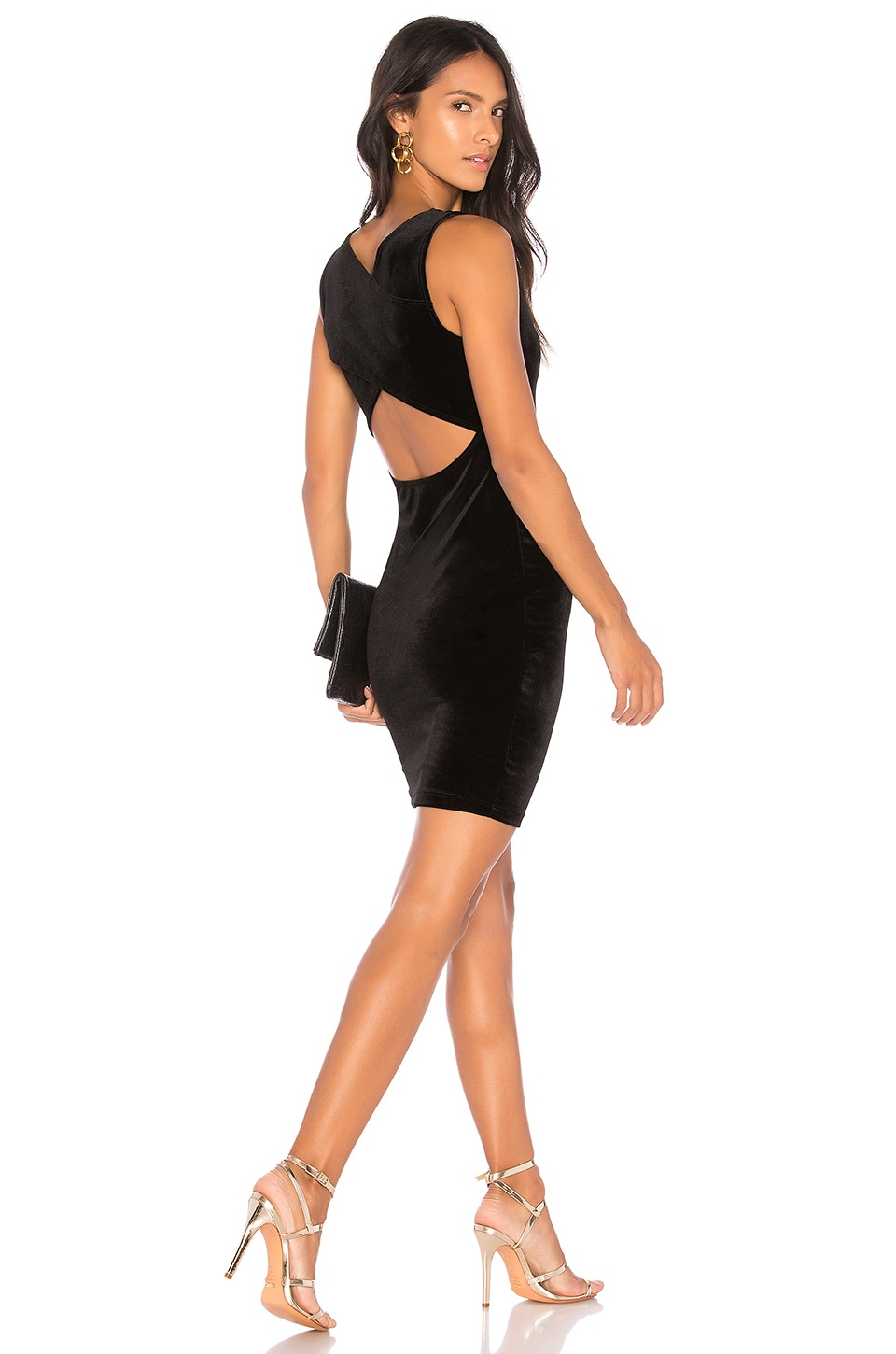 LA Made Jada Dress in Black