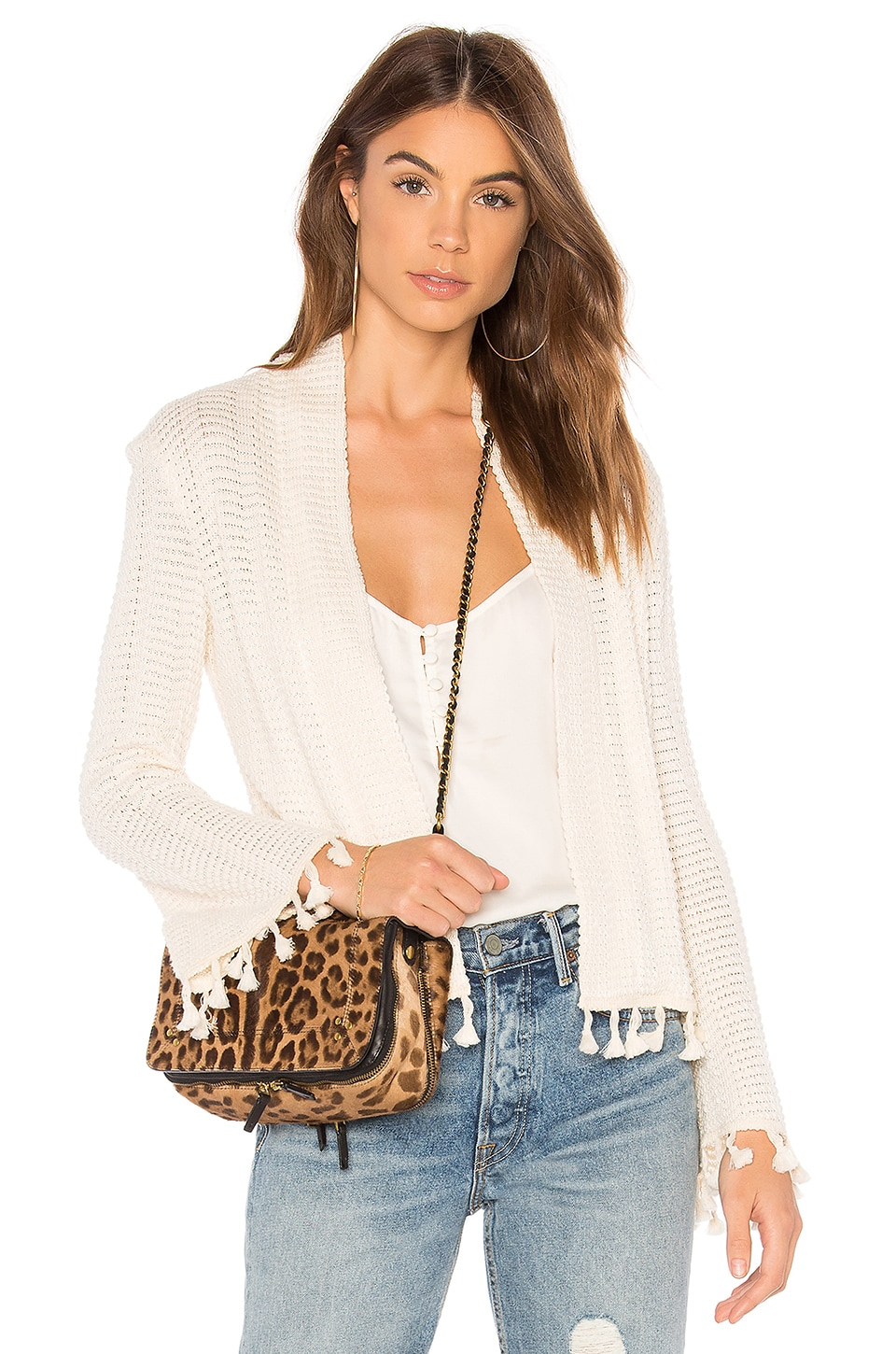 LA Made Nev Cardigan in Natural