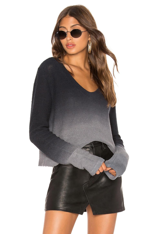 LA Made Ullia Sweater in Ink Ombre
