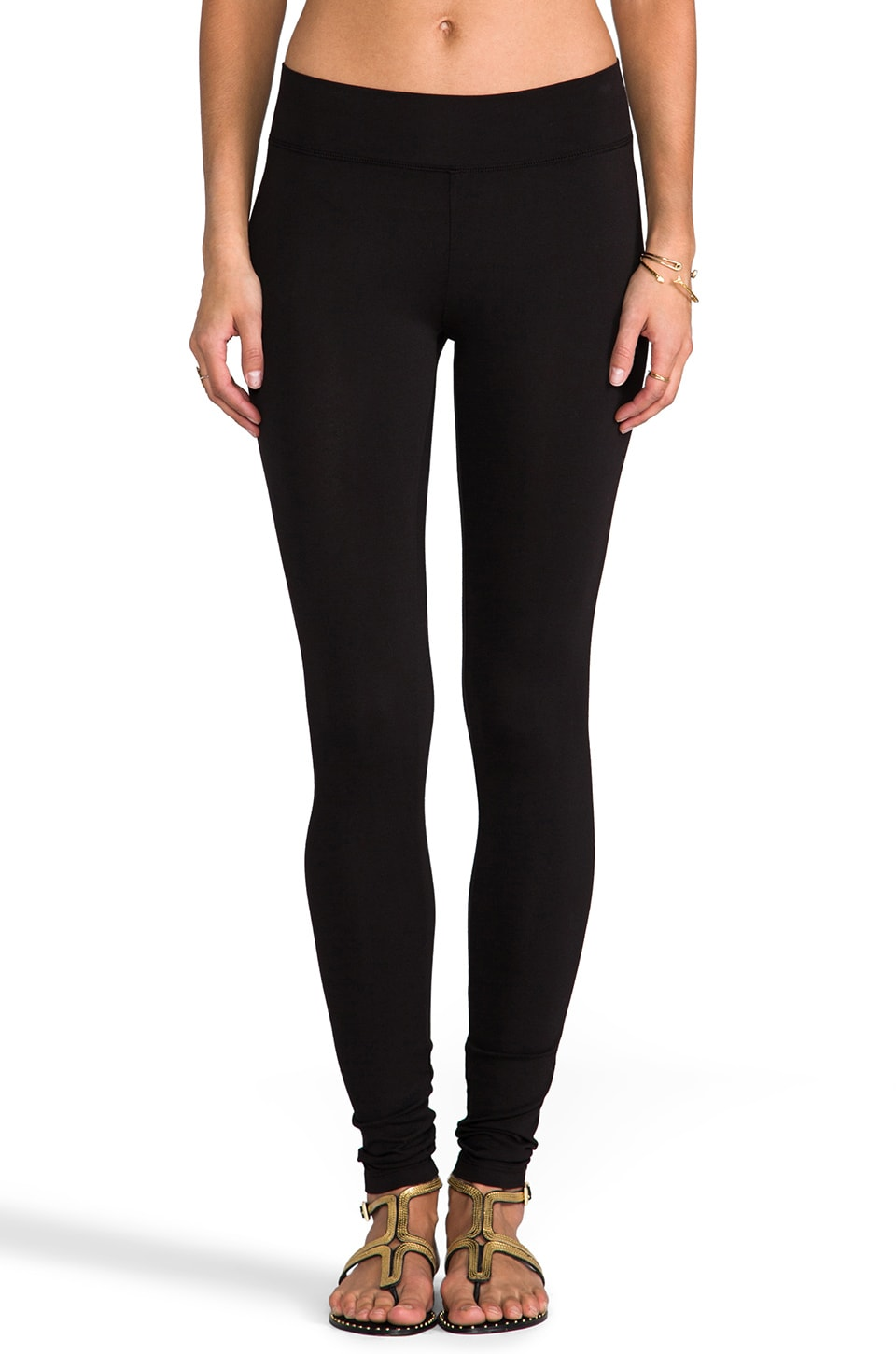 LA Made Heavy Leggings in Black