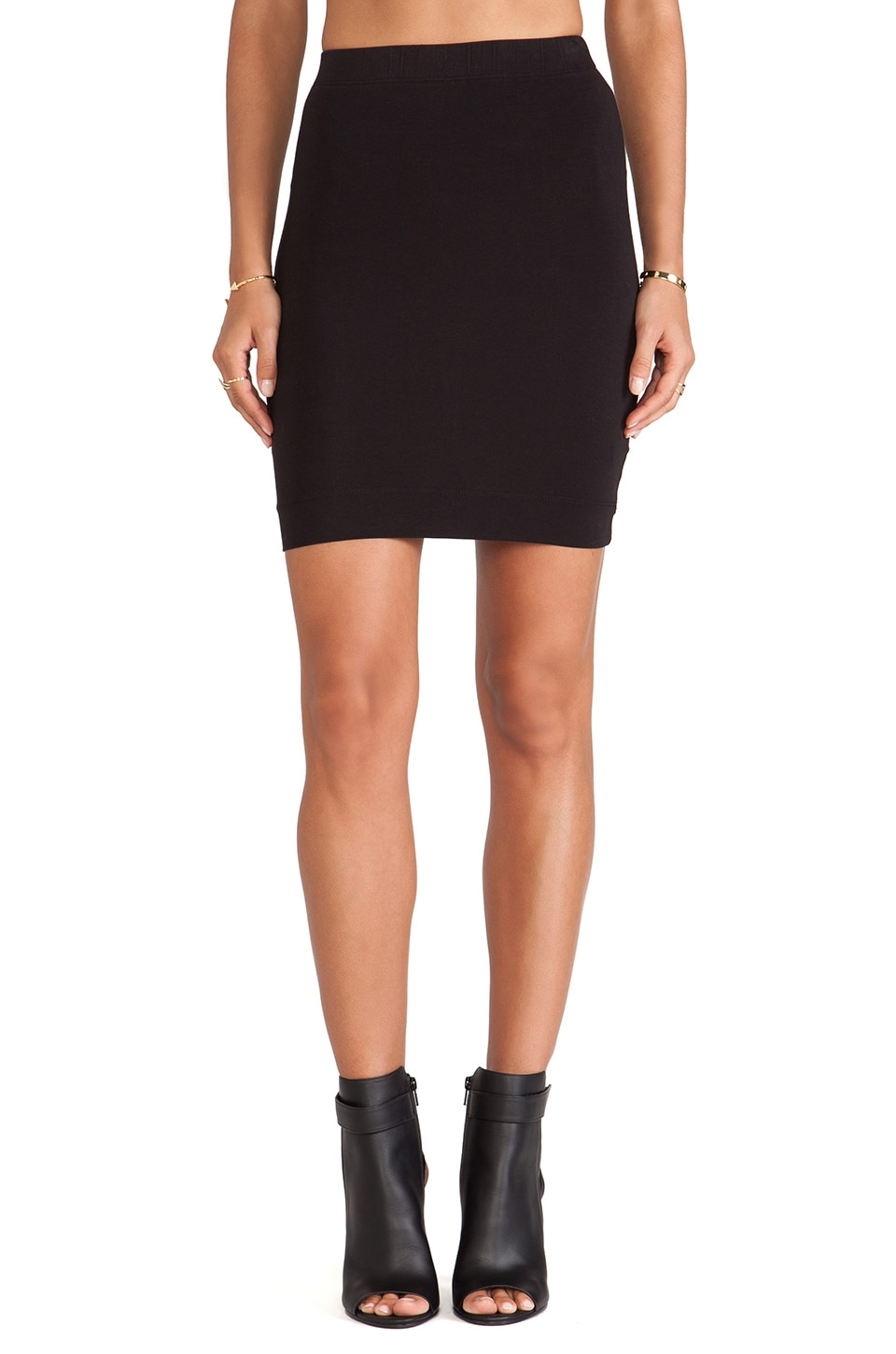 LA Made Candice Skirt in Black