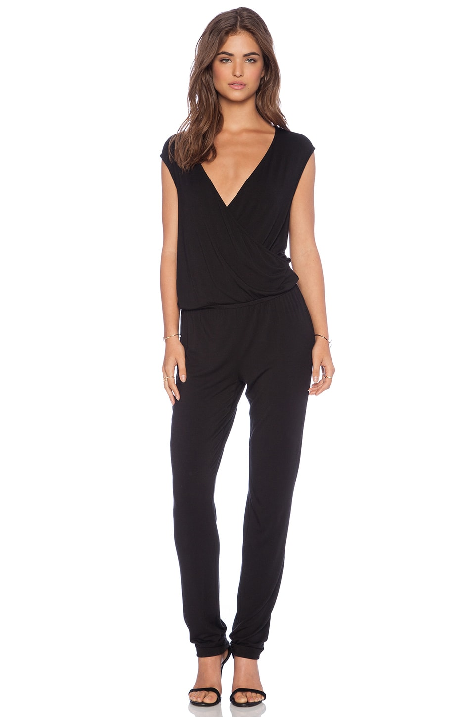 LA Made Abby Jumpsuit in Black