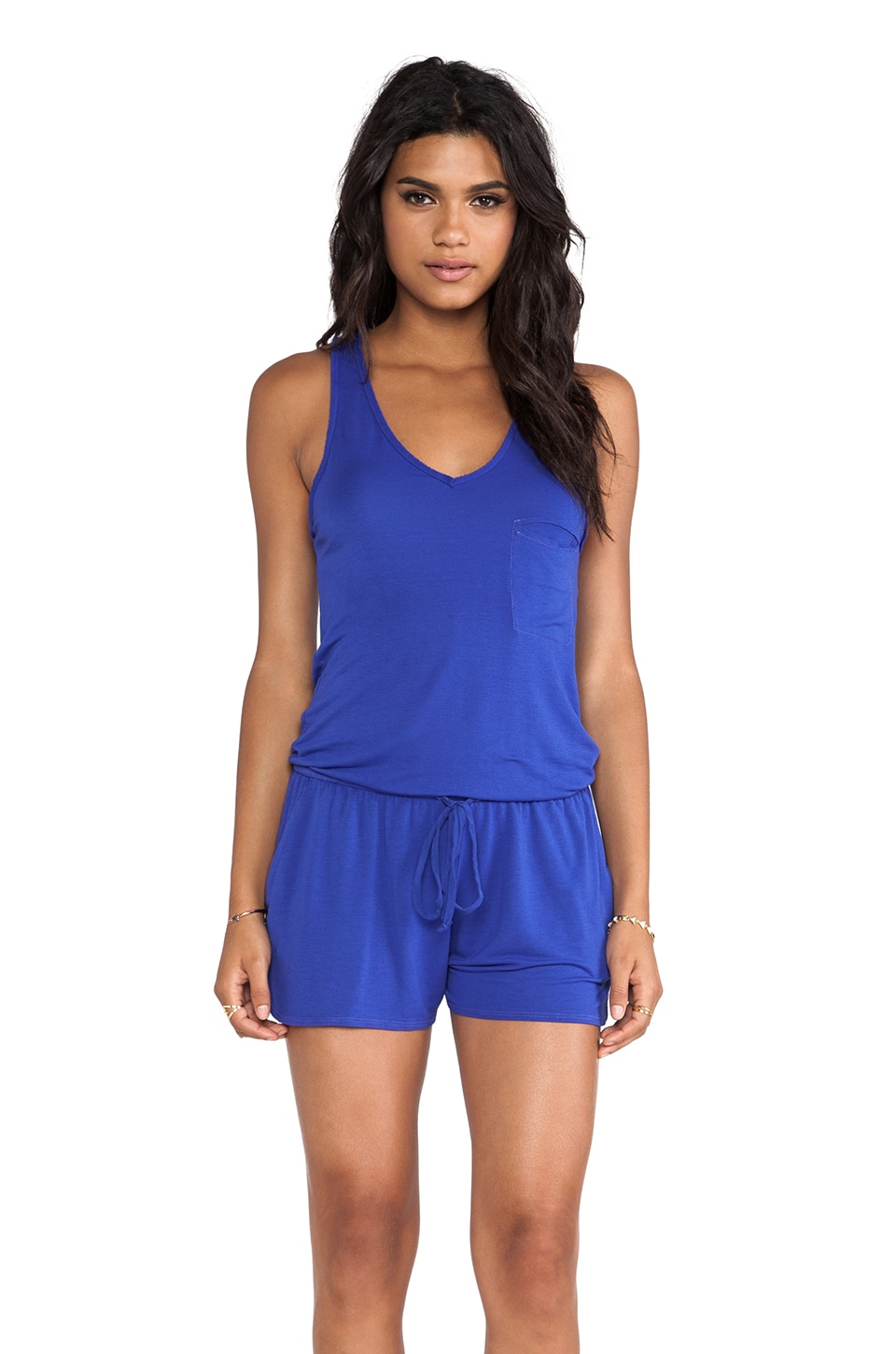 LA Made Romper in Scuba
