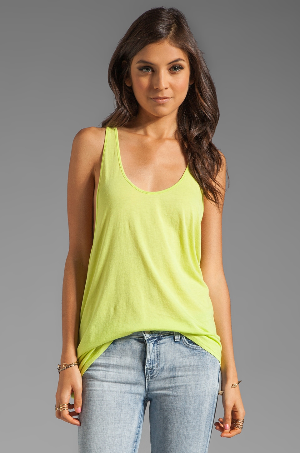 LA Made BF Racerback Tank in Mojito