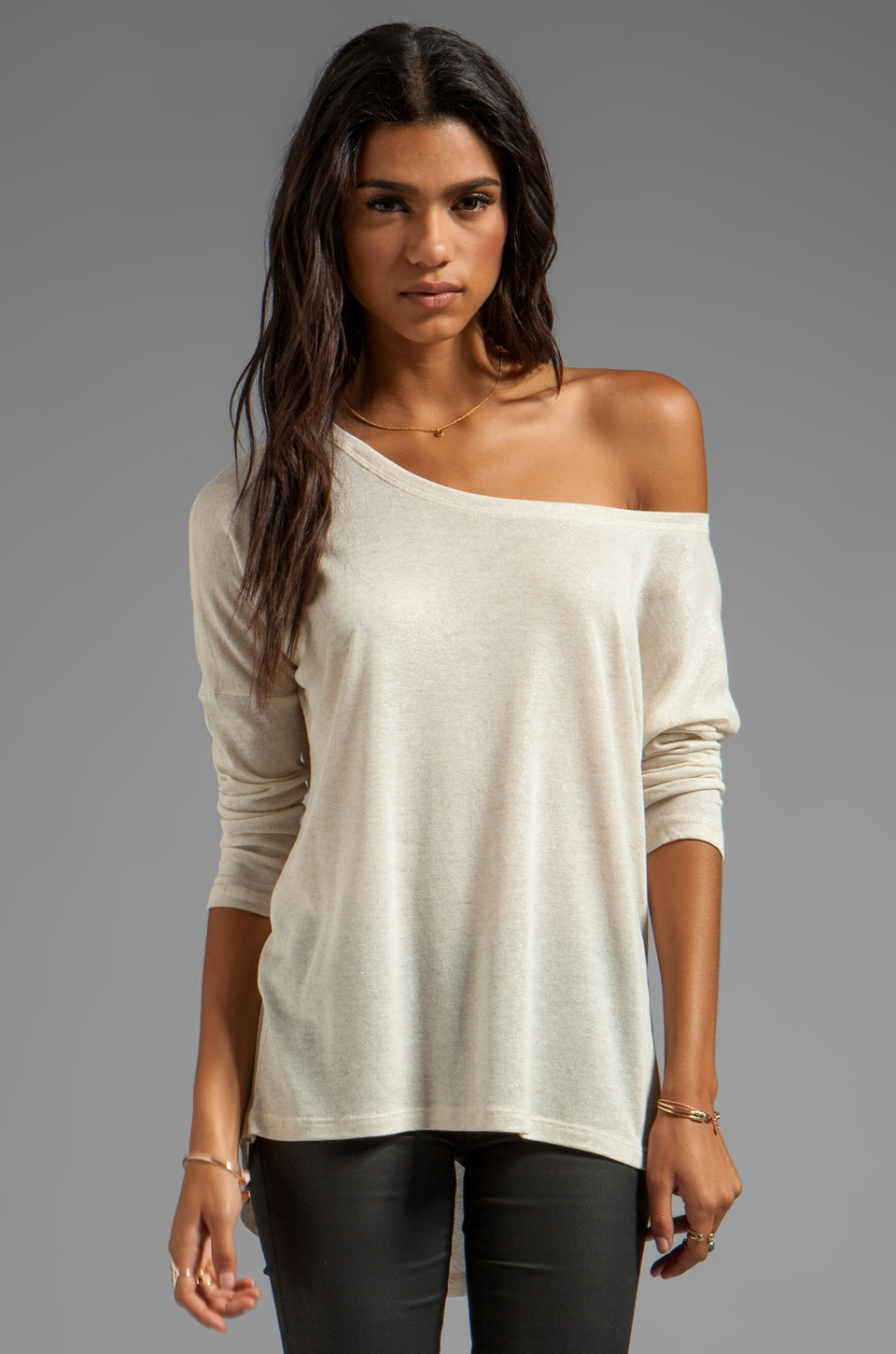 LA Made Drop Shoulder Boxy Top